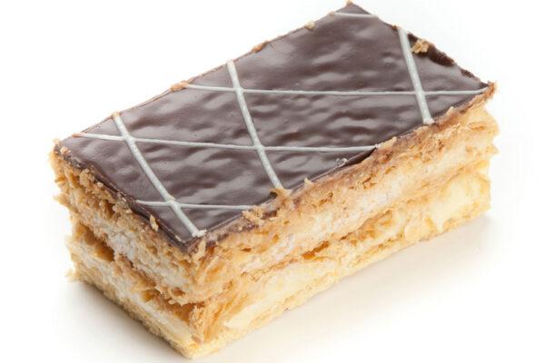 Milhojas chocolate