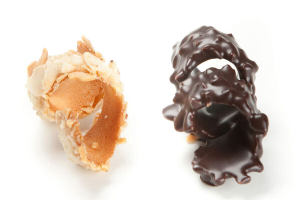 Txirloras chocolate natural
